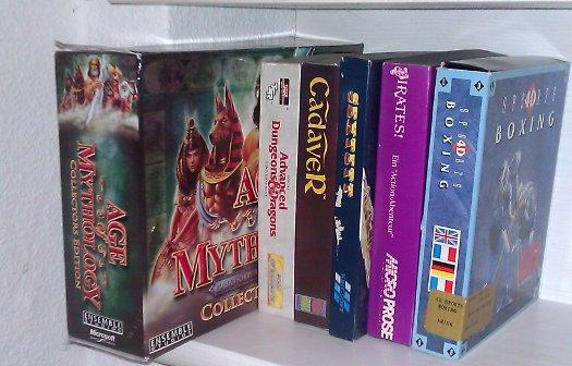 Weitere Amiga-Spiele sowie ein PC-Spiel