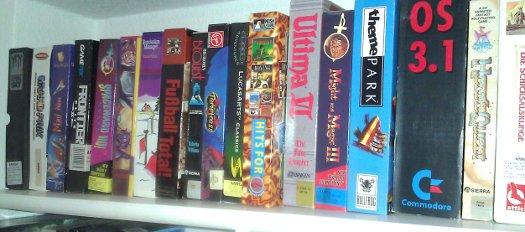 Weitere Amiga-Spiele