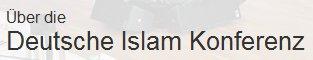 """Es hilft alles nichts: entweder heißt es """"Deutsche Islamkonferenz"""" oder aber """"Deutsche Islam-Konferenz""""."""