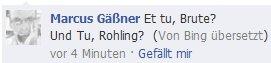 Nun tu doch was, du Rohling..